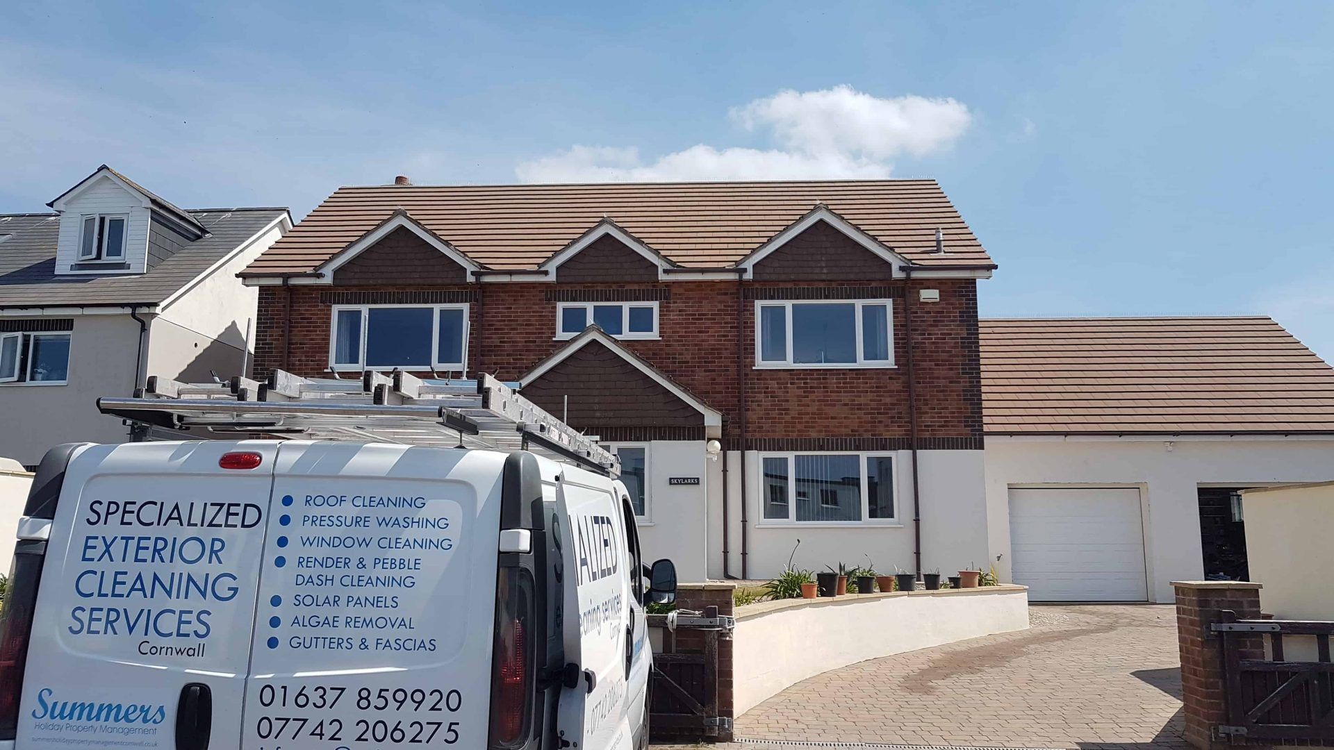 Exterior Cleaning Services Cornwall